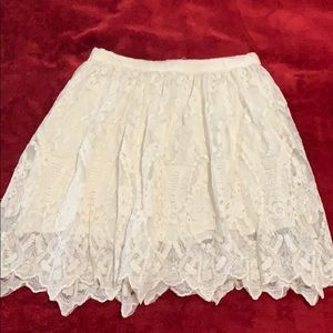 Soprano A line lace skirt